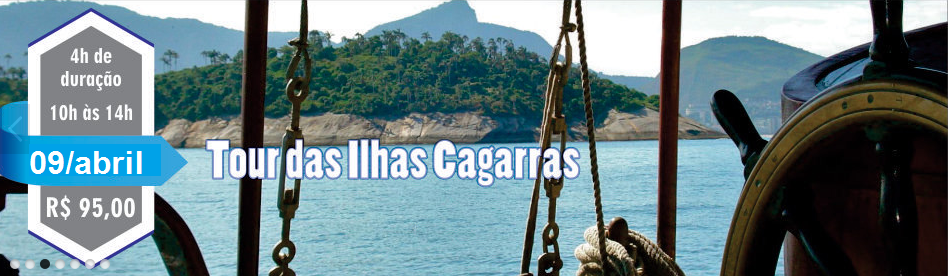 Tour para as ilhas cagarras